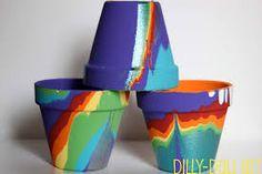 More pour paint pots.