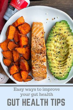 The PERFECT healthy neal combo. Salmon, sweet potatoes, and avocado. 🥑 It doesn't get any better than this! You've got your healthy fats, lean protein,… Healthy Meal Prep, Healthy Fats, Healthy Cooking, Healthy Choices, Healthy Eating, Healthy Protein, Lean Protein Meals, Lean Meals, Salmon And Sweet Potato