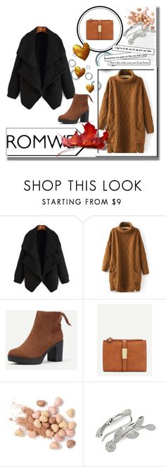 """""""romwe 1"""" by amina-haskic ❤ liked on Polyvore featuring Too Faced Cosmetics"""
