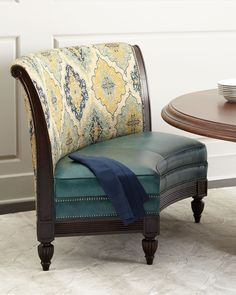 Flanagan Banquette by Massoud at Neiman Marcus.