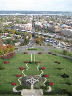 George Washington Masonic Memorial    We visited in August 2012, This is a view from the top floor ... beautiful!!!