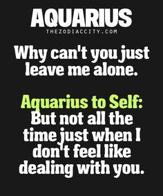 Zodiac Aquarius.
