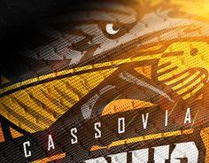 "Check out new work on my @Behance portfolio: ""Rebrand - Cassovia Crows"" http://be.net/gallery/58657597/Rebrand-Cassovia-Crows"