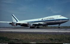 Eastern Air Lines (Pan American World Airways - Pan Am) N737PA Boeing 747-121 aircraft picture