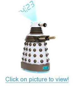 Doctor Who Dalek Projection Clock Home #Office #Lighting #Clocks