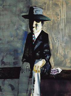 Charles Blackman ~ The Suitor, 1960