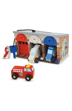 Melissa & Doug Melissa and Doug 'Lock & Roll Rescue Garage' Play Set available at #Nordstrom