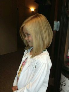 Little Girl Haircuts with Bangs - Little Girl Hairstyles And Haircuts - Frisuren Little Girl Bob Haircut, Little Girl Hairstyles, Bob Hairstyles, Teenage Hairstyles, Kids Bob Haircut, Haircuts For Little Girls, Braided Hairstyles, Kids Girl Haircuts, Kids Hairstyle