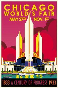 Vintage Poster + Chicago World's Fair