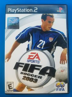 FIFA Football known as FIFA Soccer 2003 in North America, is an association football video game produced by Electronic Arts and released by EA Sports. It was released in FIFA 2003 is the tenth game in the FIFA series and the seventh to be Fifa Soccer, Fifa Football, Play Soccer, Ea Sports, Sports Games, Pc Games, Nintendo Switch, Football Video Games, Gamecube Games