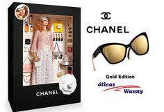 Bonecas de luxo usam Chanel! #oculos #de #sol #modasolar #dolls #barbie #grife