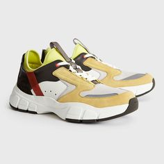 16 Things To Buy In The Reiss Up To 50% Off Sale #white #yellow #footwear #shoe #product #beige #sportswear #walkingshoe #sneakers