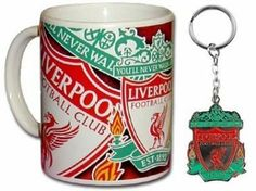 Liverpool FC Mug & Keyring by Liverpool F.C.. $19.95. This official Liverpool gift set contains a Liverpool FC mug and crest keyring which are both available for immediate delivery. Code: MUG134