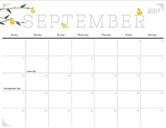 Superior Printable Calendar Cute And Crafty 2017 Printable Calendar   IMom