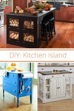 Cheap Kitchen Islands Table Designs 15 Gorgeous Diy For Every Budget Random Decor Make Your Own Island In 4 Simple Steps Redo