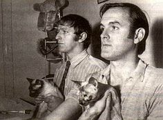 """John Cleese and Graham Chapman - Don't forget that fabulous phrase """"real men love cats."""""""