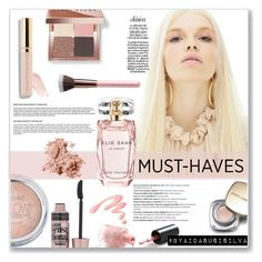"""""""Beauty Must - Haves"""" by aidasusisilva ❤ liked on Polyvore featuring beauty, Maybelline, Bobbi Brown Cosmetics, Elie Saab, Balmain, Dolce&Gabbana and Chantecaille"""