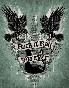 I Absolutely LOVE Rock/ Metal Music it's one of my Favourite Genres of Music to listen too Ever❤️👍🏻😊😁🎶🎸 There are so many Rock/ Metal songs/Bands that I listen too and I love there music. Rock N Roll Music, Rock Roll, Volbeat Tattoo, Hard Rock, Style Punk Rock, Goth Style, Pop Rock, Live Rock, Rock Chick
