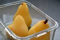 Poached Pears from Paleo Comfort Foods by Michelle Tam http://nomnompaleo.com