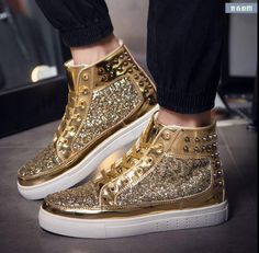 Casual footwear Gym Cross-trainer Tennis Shoe Skateboarding Sneakers Shoes  Gold Outdoor Athletic Sport Shoes Chelsea Shoes Lace-up Sapatos for men and  women ... b4760bc88e31