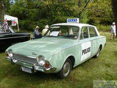 Vintage British Police Car? by Canadian Pacific, via Flickr