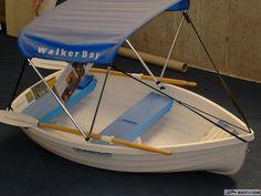 Boat Deck Cover Walker Bay 10 Sailboat Gray Poly