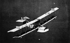 Curtiss HS-2L flying boat built for the United States Navy during World War I