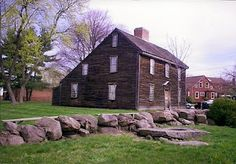 saltbox house - Quincy, Massachusetts