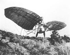 The work with gliders in Germany by the Lilienthal brothers, Otto and Gustav (1849-1933), was, arguably, the most important aerial effort prior to that of the Wright brothers, Wilbur and Orville. Otto Lilienthal's numerous flights, over 2,000 in number, demonstrated beyond question that unpowered human flight was possible, and that total control of an aerial device while aloft was within reach.