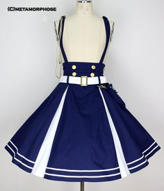 Metamorphose Temps de Fille Sailor Suspender Skirt
