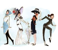 audrey | always a fashion inspiration, but let's not forget the personal inspiration that she is also. :)