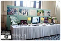 Melissa Copeland Photography // http://www.melissacopeland.com Bridal Show Booth / Photography Booth