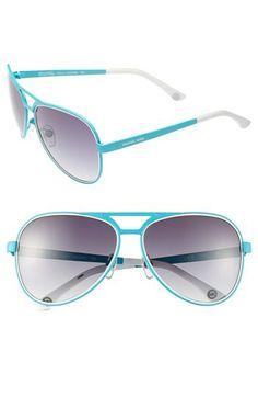MICHAEL Michael Kors 59mm Aviator Sunglasses available at #Nordstrom