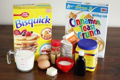 5 Cereal-Pancakes! Add cereal to your pancakes to get the best of both worlds!