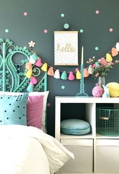 Interior for kids - Easy ways to inject colour into a child's interior space.