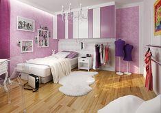 Ložnice pro mladou baletku