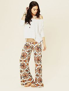 Printed Beach Pant  http://www.freepeople.com/whats-new/printed-beach-pant/