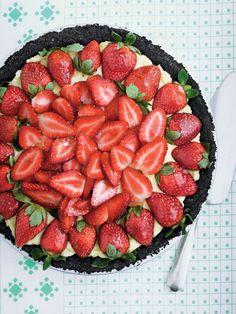 Strawberry Pie Recipes. @Leading Wineries of Napa