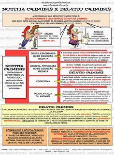Notitia Criminis X Delatio Criminis