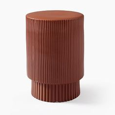Fluted Side Table