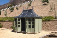 Potting Shed by HSP Garden Buildings Lead Roof, Greenhouse Shed, Garden Studio, Garden Buildings, Garden Spaces, Gazebo, Entrance, Backyard, Outdoor Structures