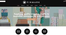 """Finmark on Instagram: """"NOW LIVE ***Finmark's New Website!*** Finmark are excited to announce their new website is now live! You can now browse our complete range…"""" Gift Wrapping Paper, Range, Website, Live, Instagram, Cookers, Present Wrapping"""
