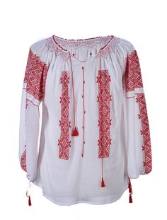 Embroidered Clothes, Embroidered Tunic, Peasant Blouse, Blouse Vintage, Handmade Clothes, Traditional Outfits, Blouses For Women, Anna, My Style