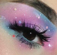 #makeup #aesthetic #pastel #beauty #inspo #eyeshadow # ... #eyemakeup #makeup #makeupideas Fancy Makeup, Creative Makeup Looks, Eye Makeup Art, Cute Makeup, Pretty Makeup, Eyeshadow Makeup, Makeup Wings, Eyeshadow Ideas, Makeup Artistry
