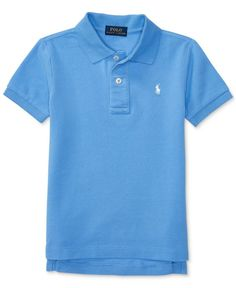 b4d49bc1e308 Ralph Lauren Cotton Polo, Toddler & Little Boys (2T-7) & Reviews - Shirts &  Tees - Kids - Macy's
