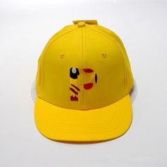 b54c9802110 Anime Pokemon Pikachu Cosplay Baseball Caps Adults and children Hip Hop