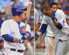 Anthony Rizzo came through with his first career walk-off homer to give the Cubs the win against the Cardinals on Sunday