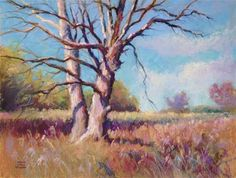 "Daily Paintworks - ""Still Standing"" - Original Fine Art for Sale - © Jeanne Bruneau"