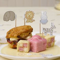 Baby miffy cupcake #cocktail picks  baby shower #christening garden party #picnic,  View more on the LINK: http://www.zeppy.io/product/gb/2/131558196358/