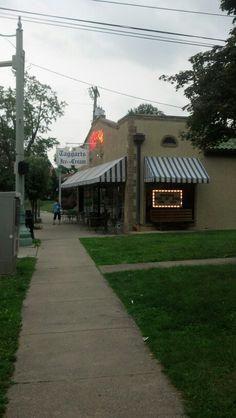 Taggart's ice cream in Canton, Ohio. A delicious tradition!